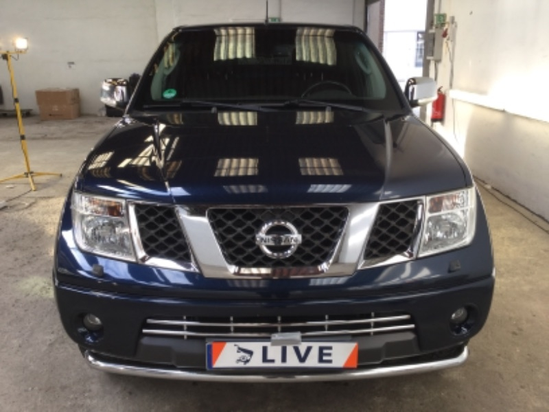 nissan navara pick up 2 5 dci king cab le 4x4 ahk. Black Bedroom Furniture Sets. Home Design Ideas