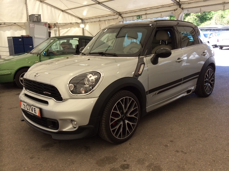 mini countryman 1 6 john cooper works xenon navi shz. Black Bedroom Furniture Sets. Home Design Ideas