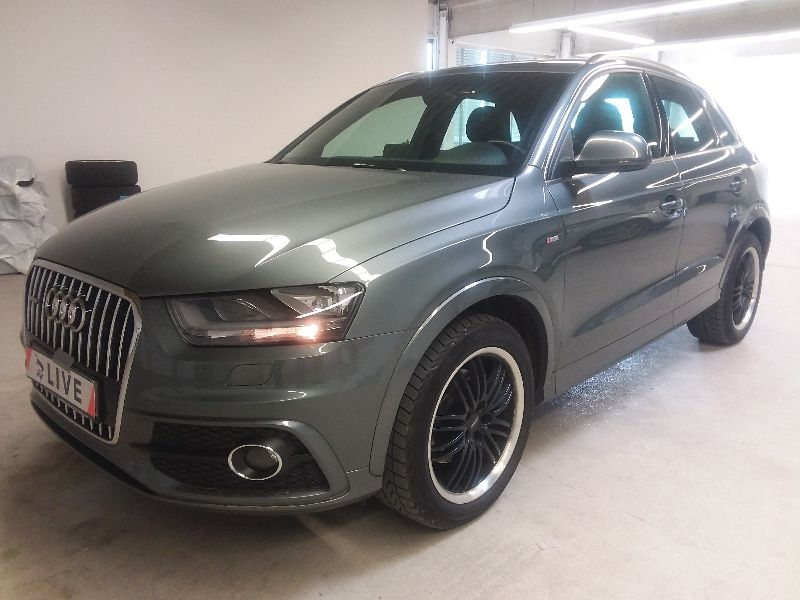audi q3 2 0 tdi quattro s line ahk acc shz. Black Bedroom Furniture Sets. Home Design Ideas