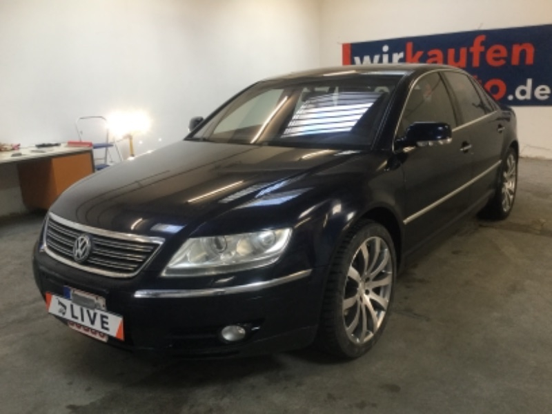 volkswagen phaeton 6 0 w12 4motion xenon acc navi shz. Black Bedroom Furniture Sets. Home Design Ideas