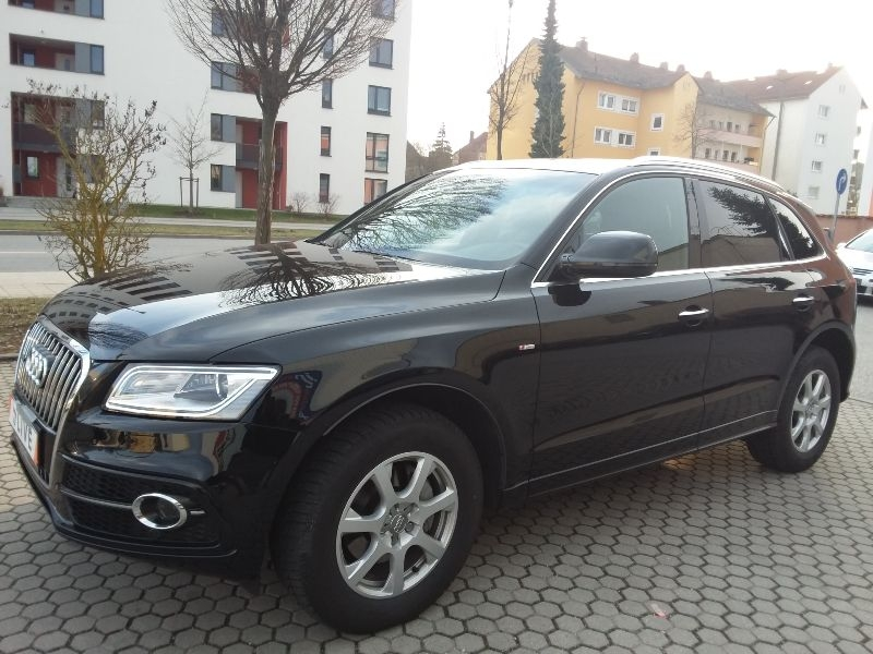 audi q5 2 0 tdi quattro s line xenon pano shz. Black Bedroom Furniture Sets. Home Design Ideas